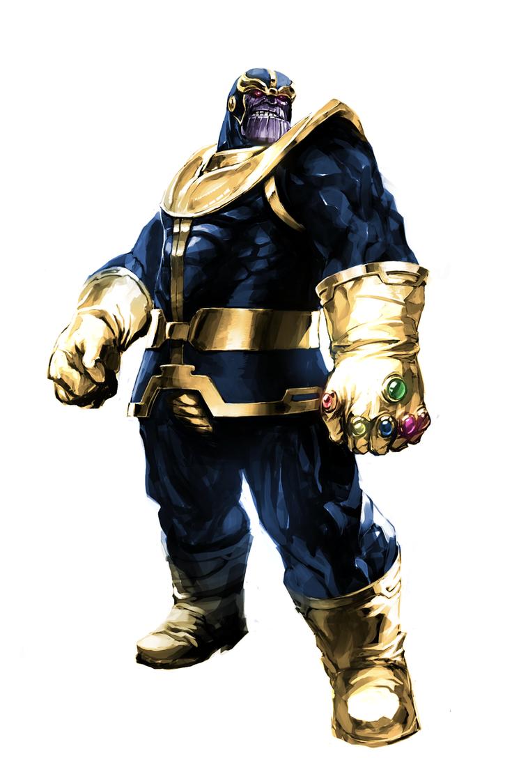 Thanos by naratani