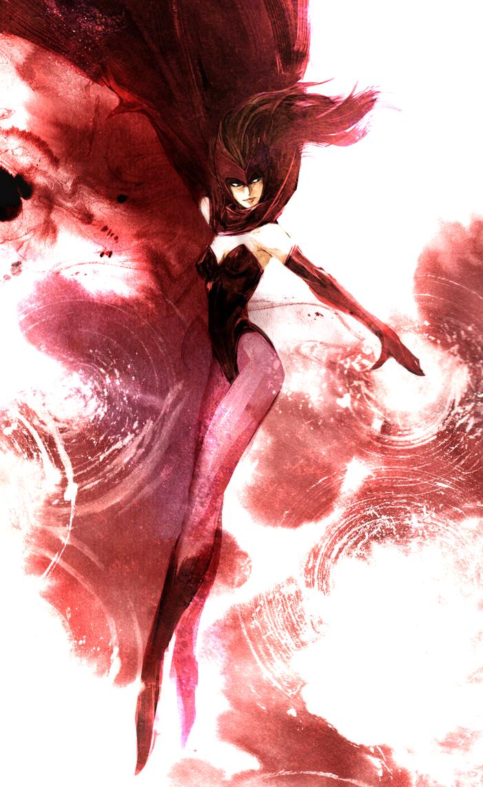 Scarlet Witch by naratani