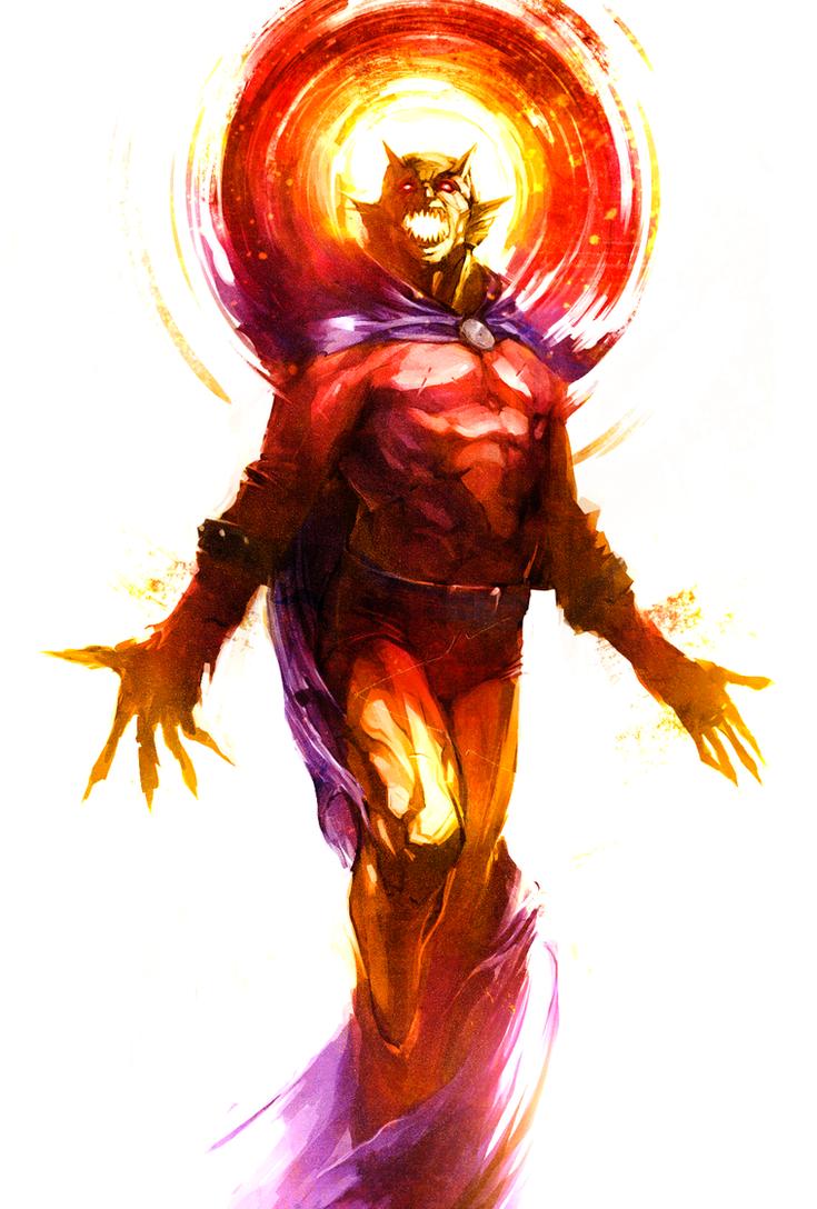 Etrigan the Demon by naratani
