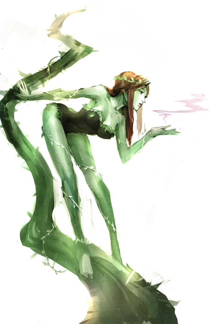 Poison Ivy by naratani
