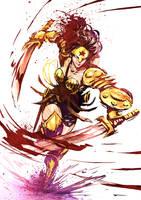 Wonder Woman by naratani