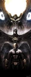Birdman/Batman/Vulture by naratani