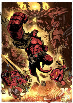 Celebrate the 25th anniversary of Hellboy!