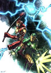 Iron Hammer and Iron Lantern