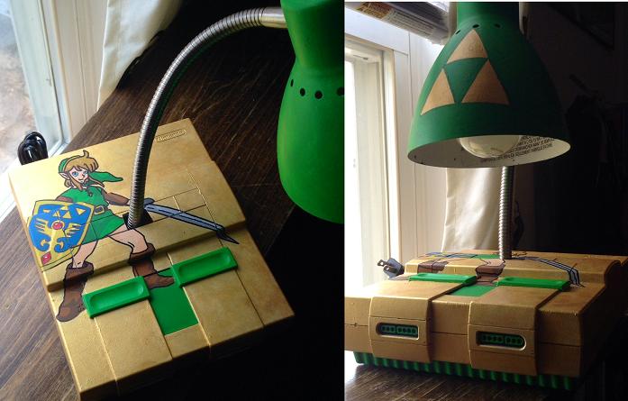Snes/zelda Desk Lamp By DemonXeyes ...