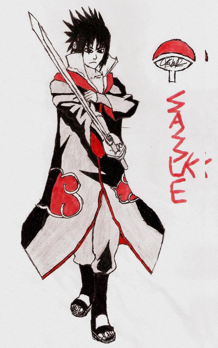 Sasuke sketch by MAJC001
