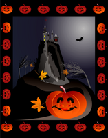 halloweeen flyer by alexa-asta