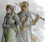 fanart: Natani and Zen