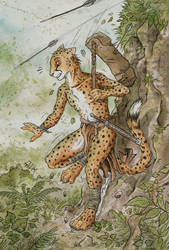 Run, cheetah! Run! by 0laffson