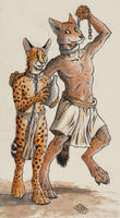 The Serval and the Coyote