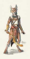 Jackal Warrior by 0laffson