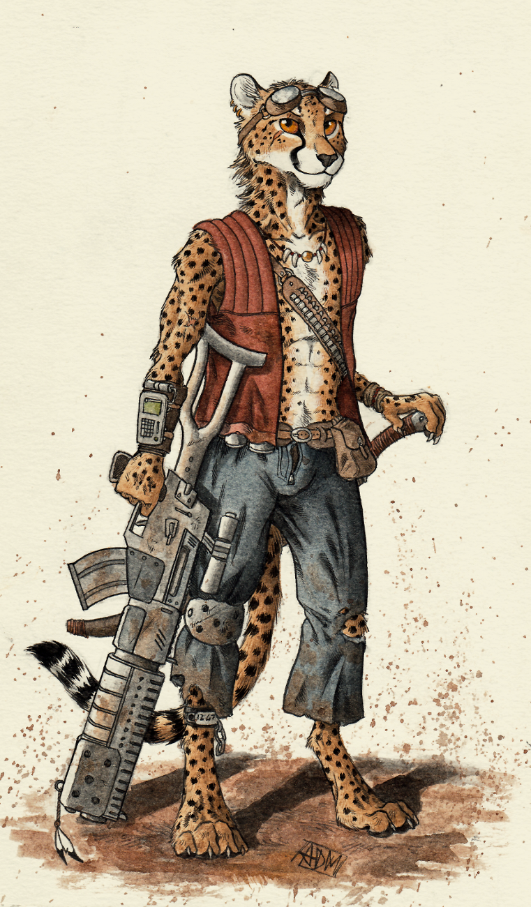 Goggly Cheetah