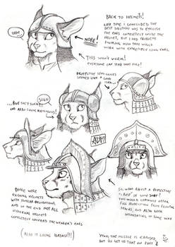 Anthro Helmets Again!  Part One