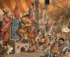 Feast of Fools by 0laffson