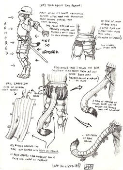Some Thoughts on Tail Armour