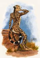 Queen Cheetah by 0laffson