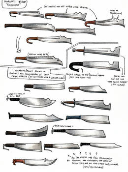 Weird Historical (More or Less) Chopping Weapons