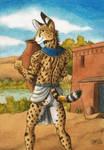 Egyptian Serval