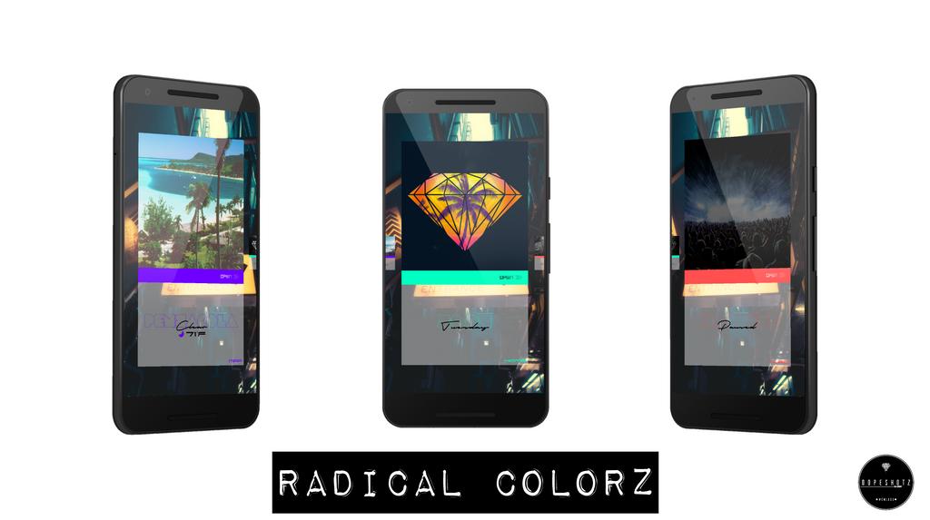 Radical Colorz by DopeShotz
