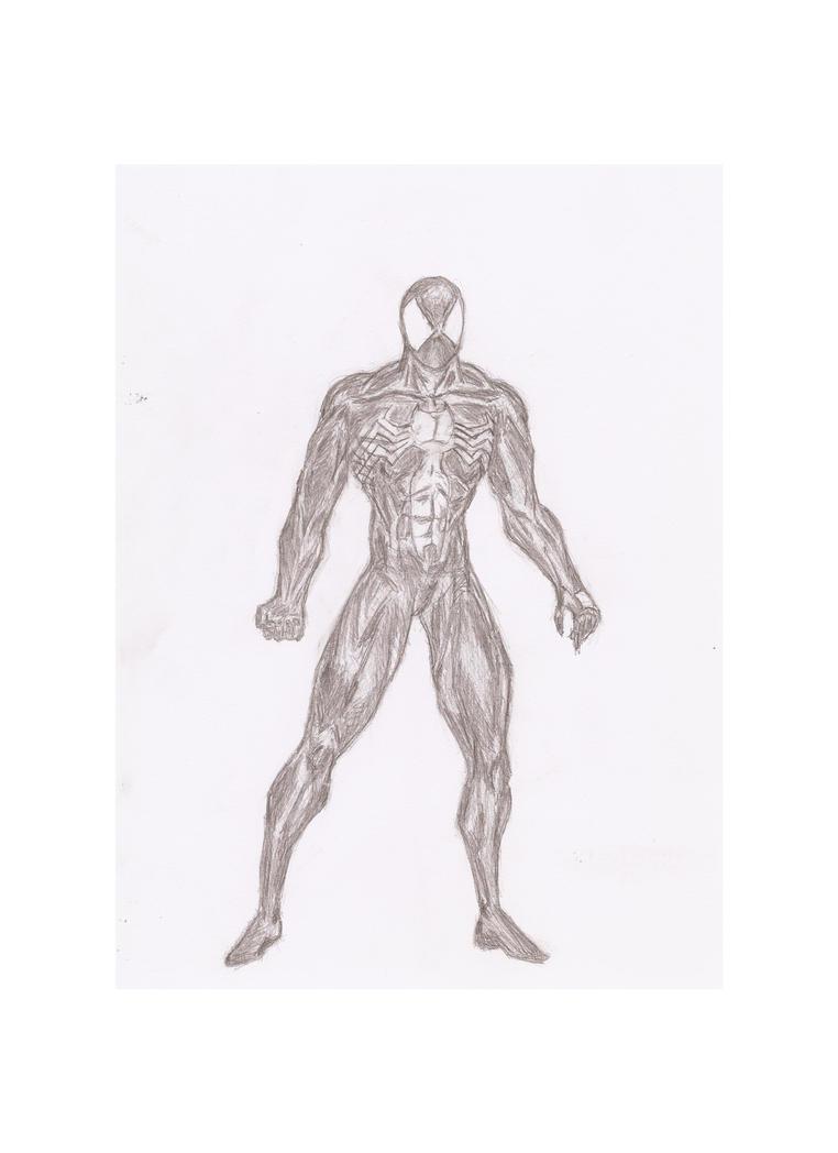 Spider-man (black suit) by Radiation-Stress