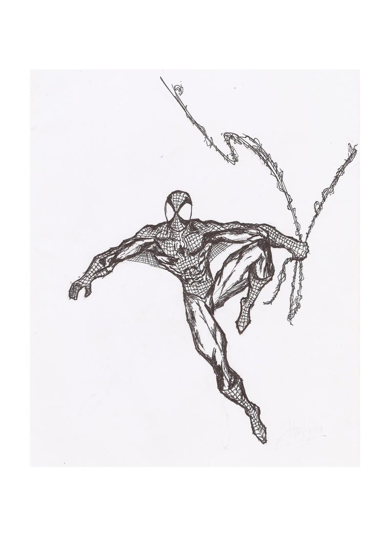 Spider-man by Radiation-Stress