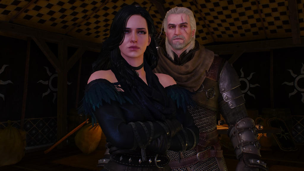 geralt and yennefer by - photo #36