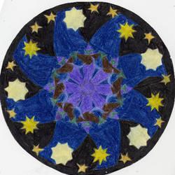 Mandala: Nighttime