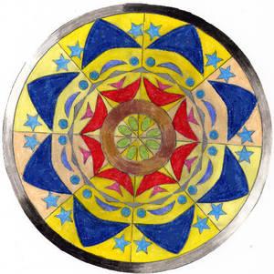 Mandala: Colour Blaze