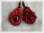 Red Passion pendants