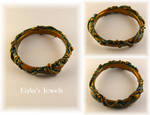 Nature wrapped bangle by Shatiel85