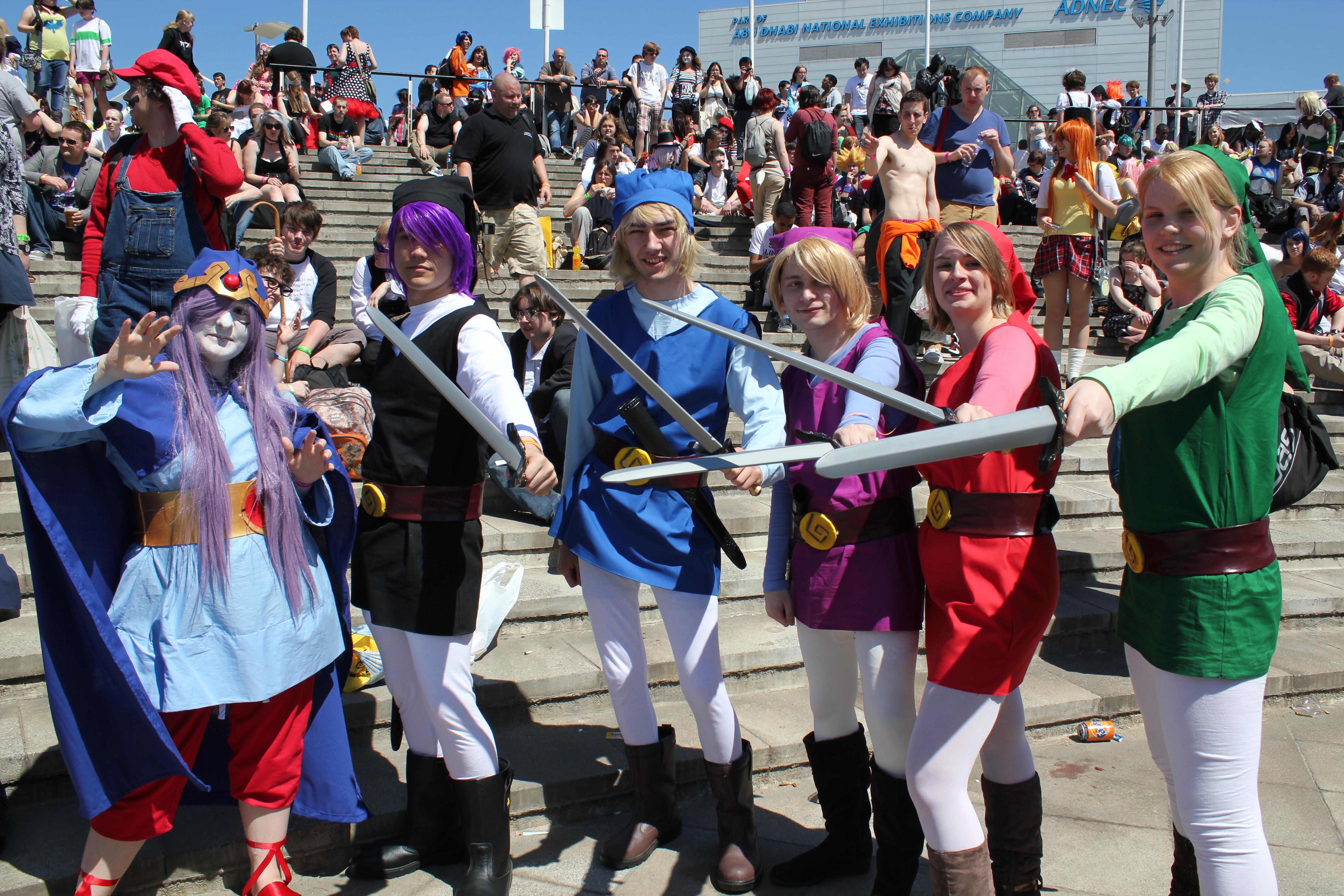 Link Four Swords Cosplay 'The Legend of Zelda: ...