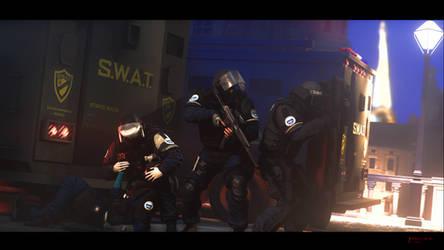 Groupe d'intervention de la Gendarmerie nationale by ENERGY-DIE-02
