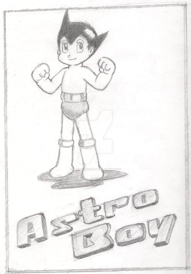 Astro Boy by ShadowNro01