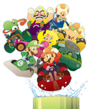 Mario Kart Pipe (Detail)