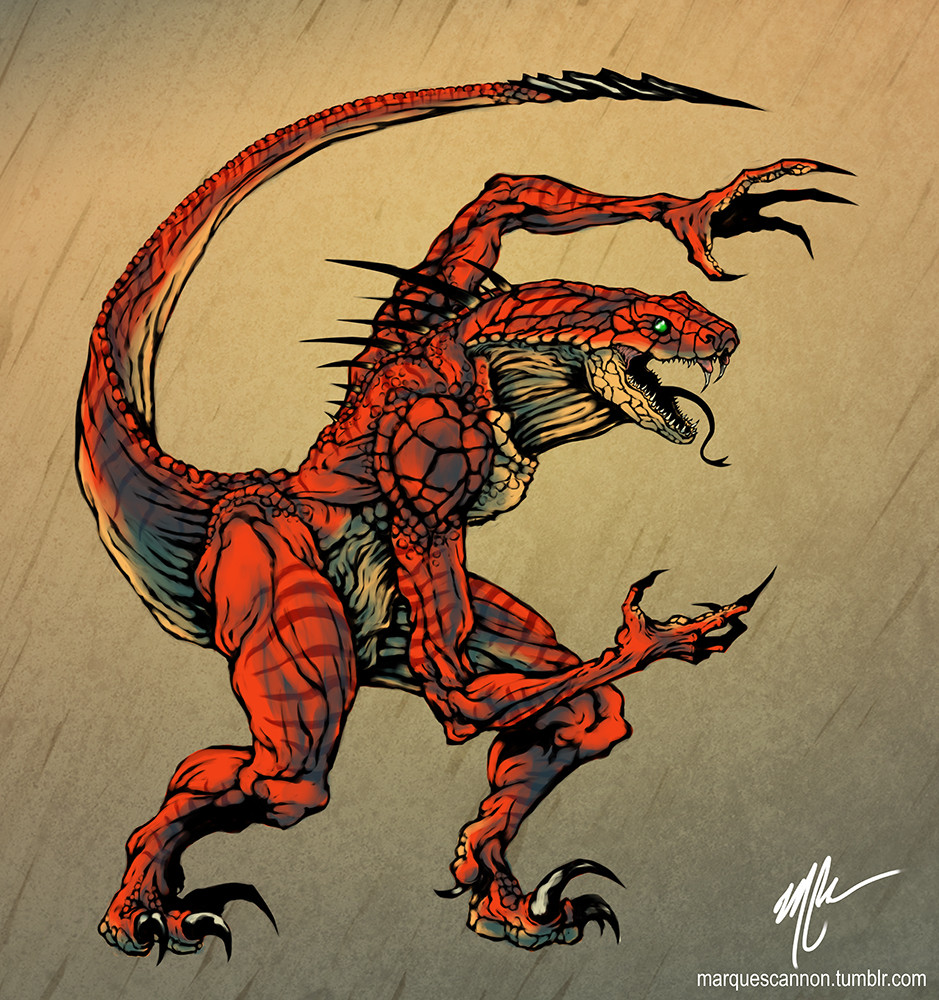 RIPTOR!! by GuitarAtomik