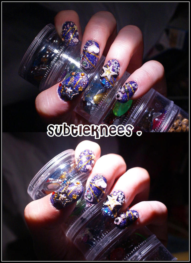Old-Ass Nails by Subtleknees