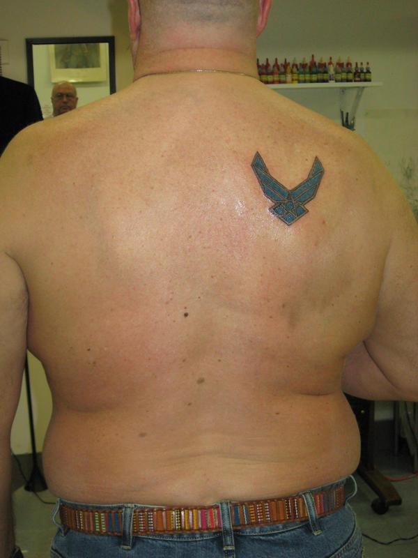 airforce tattoo by tattoosigmanu on deviantart. Black Bedroom Furniture Sets. Home Design Ideas