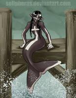 cross mermaid by solipherus