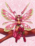 Lime Pink anime fairy