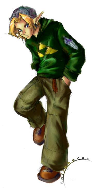 Coleccion de imagenes de Zelda. Link