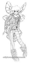 punk faery boy by solipherus