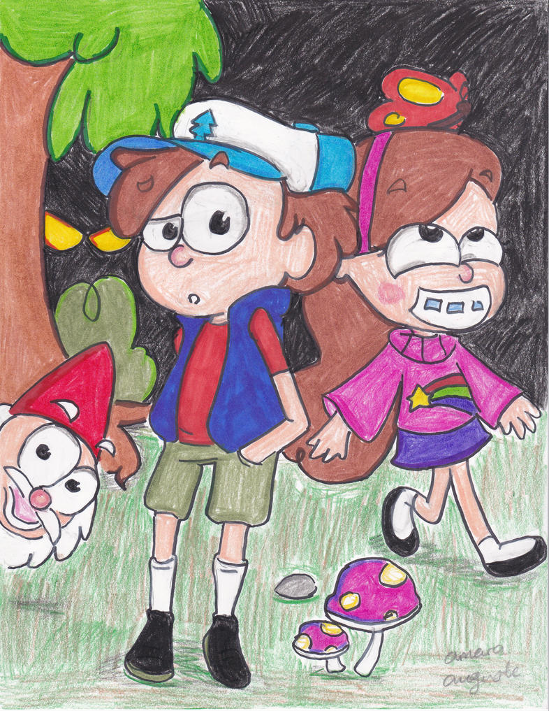Welcome To Gravity Falls by ImmaRainbowNinja