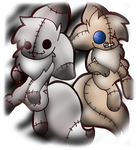 Eevee Doll and Puppet