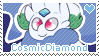 CosmicDiamond Stamp by Pupom