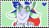 King-blu Stamp by Pupom