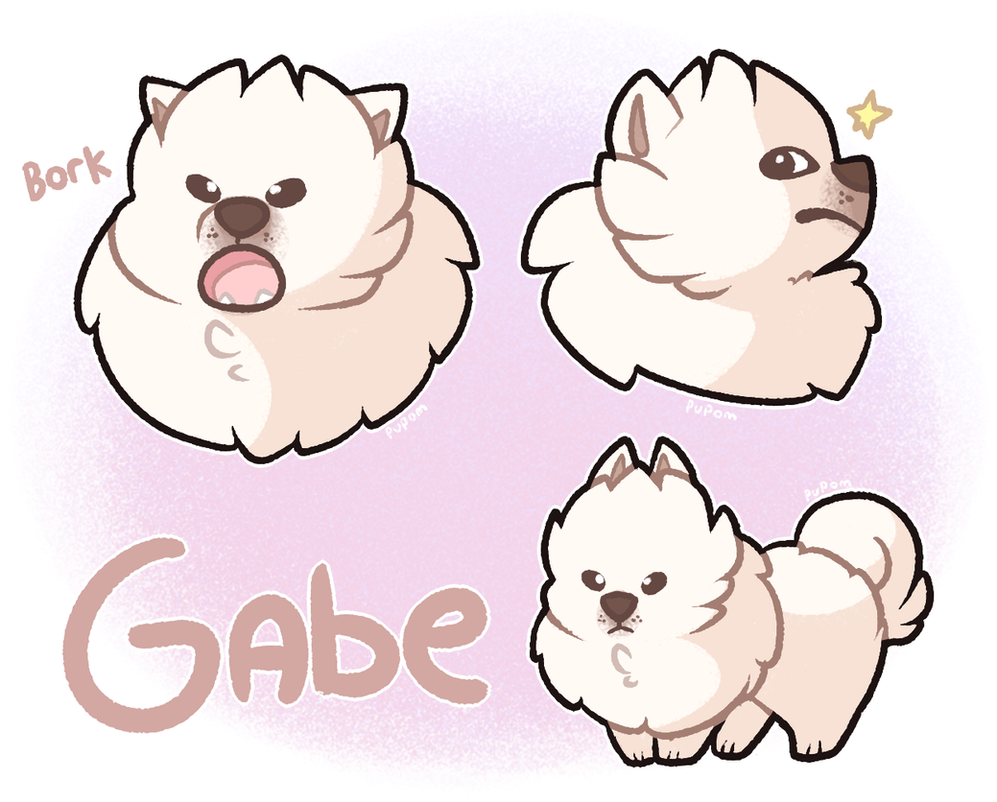 Gabe The Dog Barking Hollayu
