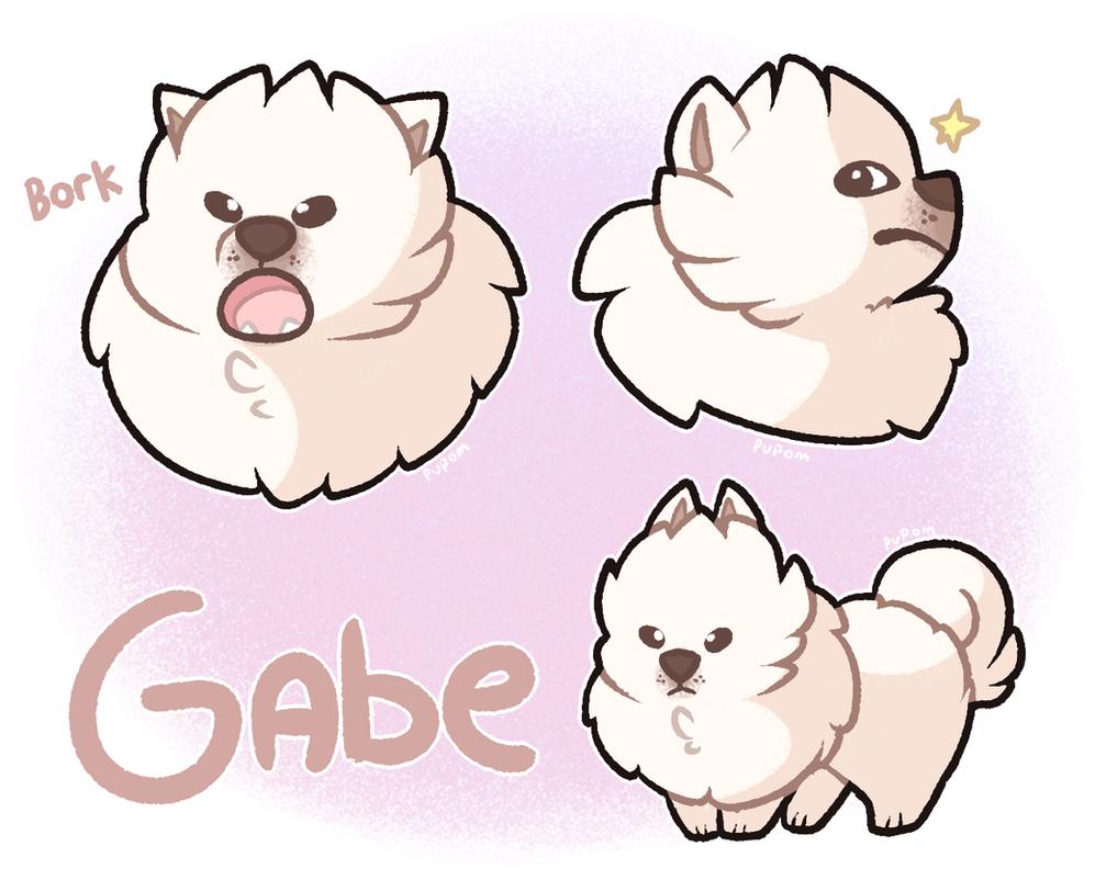 Gabe Dog Bark Source