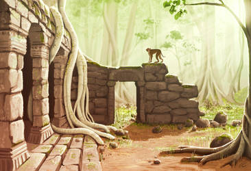 Hidden Temple by ShyMagpie