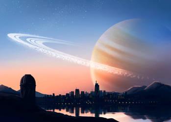 New Skyline by ShyMagpie