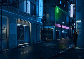 Urban Night by ShyMagpie